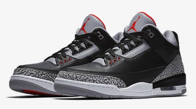 5c574218046 'Black Cement' Jordan 3s Restocking Today