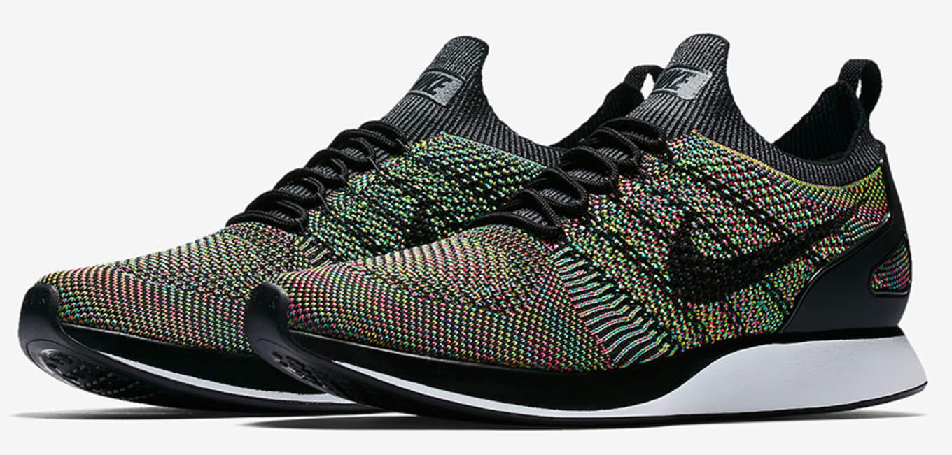 low priced 00f96 d89da The Zoom Mariah Flyknit Racer Multi-Color releases July 6.