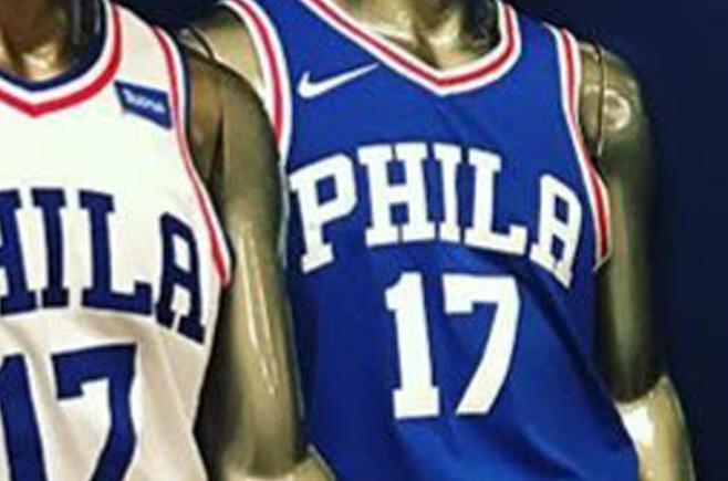 the latest e0038 b9271 Nike NBA Jerseys 2017 Philadelphia 76ers | Sole Collector