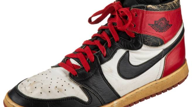 Your Chance to Own One of Michael Jordan s Game-Worn Air Jordan 1s 68e1de2e7