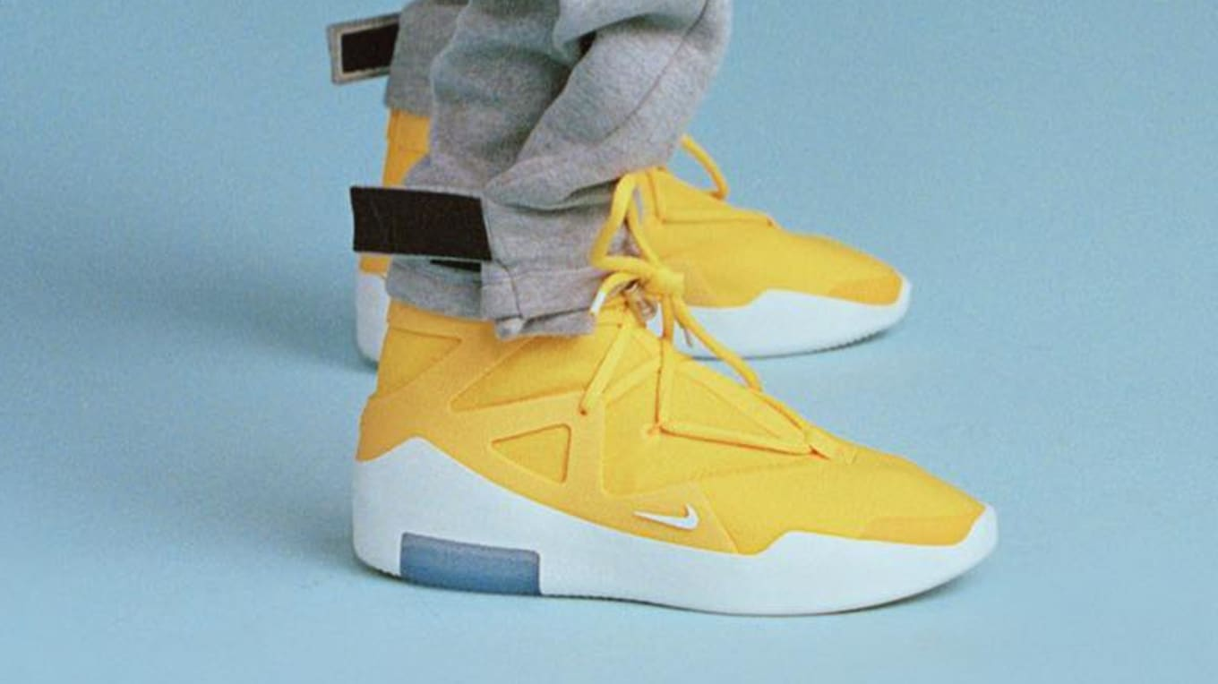 4e2d9ed6a6a3 Nike Air Fear of God 1  Amarillo  Release Date