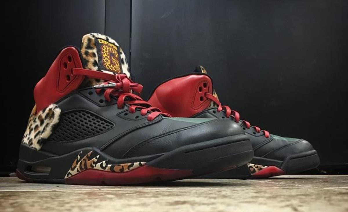 Enzo Amore Rocked Certified Custom Air Jordans on Raw Tonight