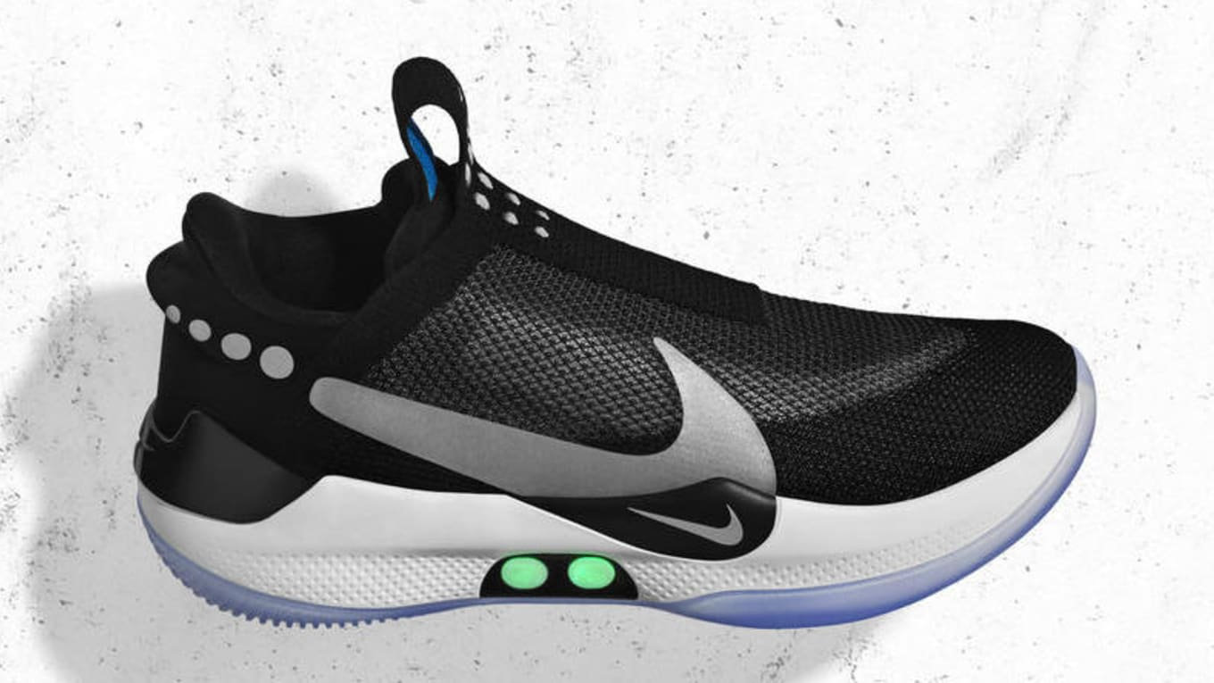 fc63eb16e34 Image via Nike. Nike s first power-lacing shoe ...