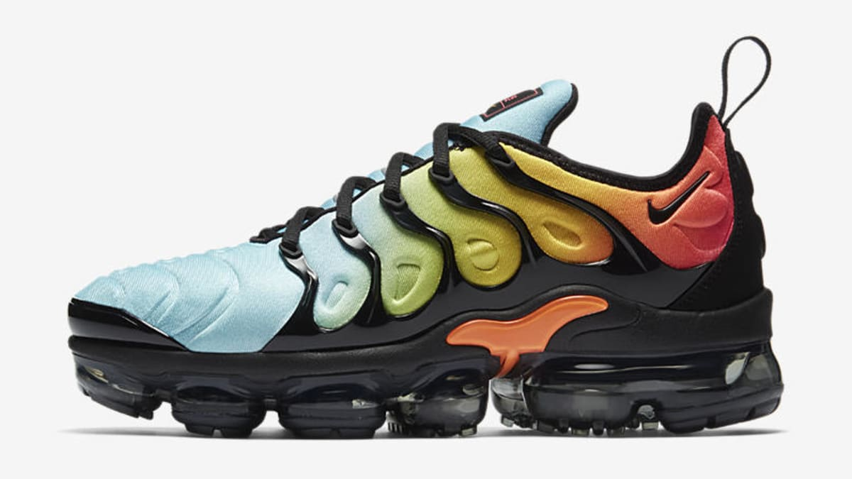 b74bd960808 Bright Versions of the Nike Air VaporMax Plus for women