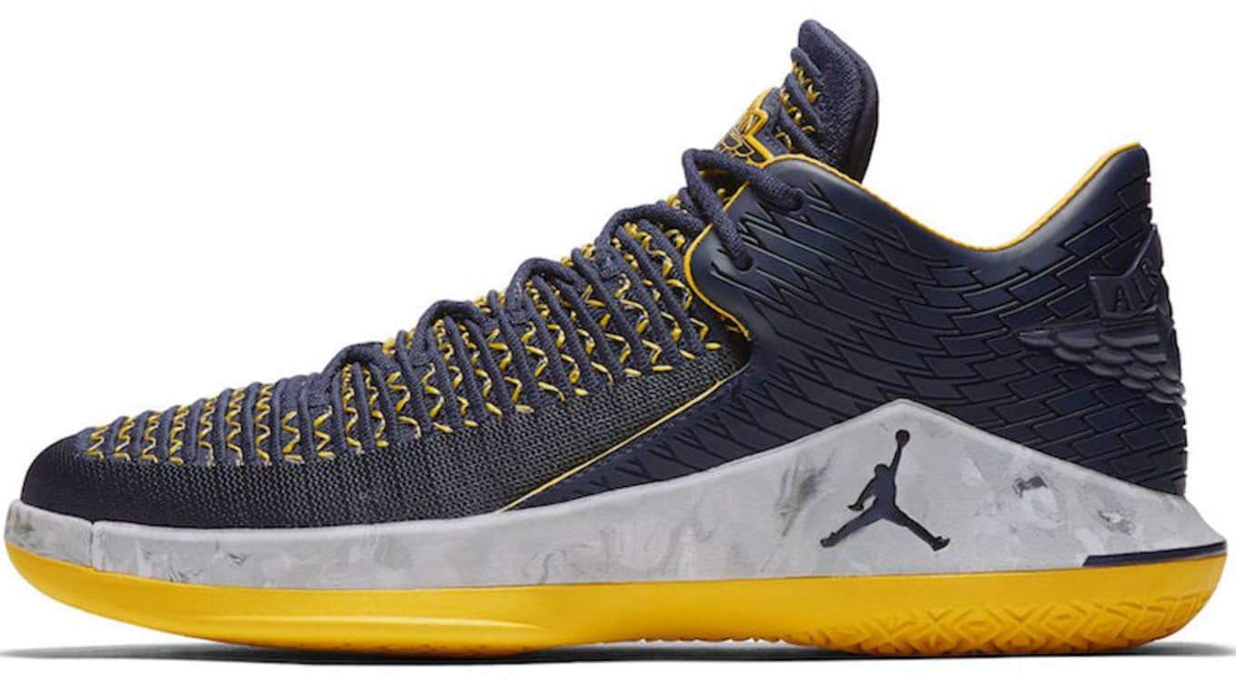daa50c4e4f27 Air Jordan 32 Low  Michigan  Will Release in Time for March Madness