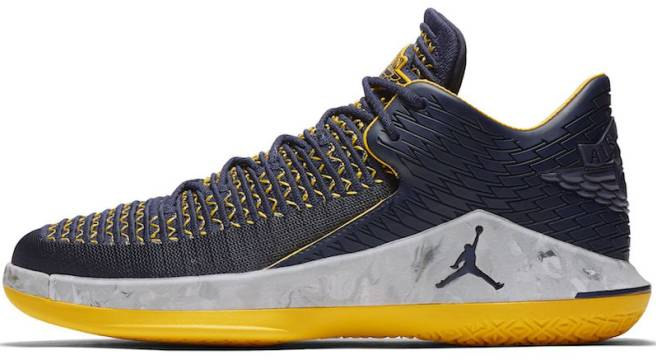 f7a09871291a Air Jordan 32 Low  Michigan  Will Release in Time for March Madness