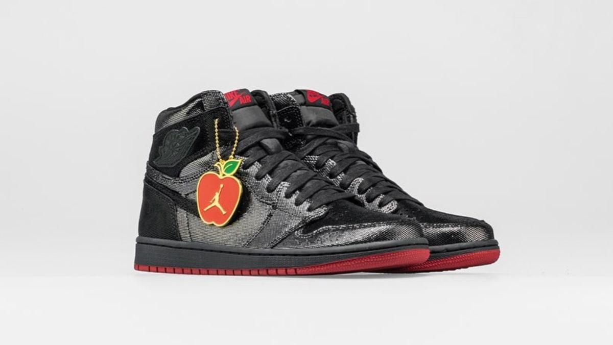 49cc9fe185f Air Jordan 1 High OG 'SP Gina' Black/Black-Varsity Red-White CD7071-001  Release Date | Sole Collector