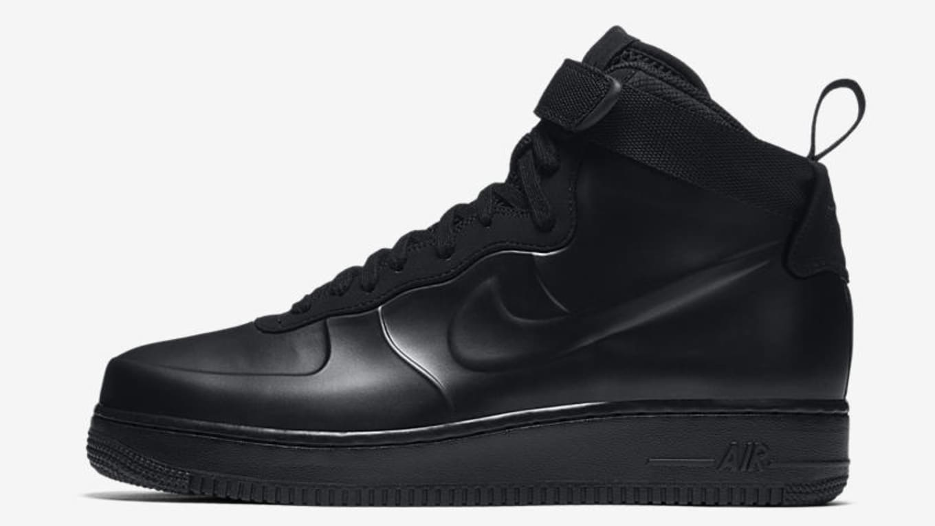 d1ea8e1fbb0 The Nike Air Force 1 Foamposite Goes  Triple Black . Details on a new   Liquid Black  colorway.