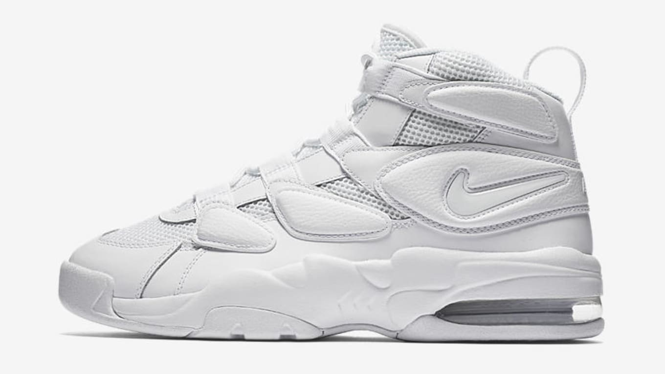 1b49f75a069 Nike Air Max2 Uptempo 'Triple White' - Sneaker Sales Sept. 3, 2017 ...