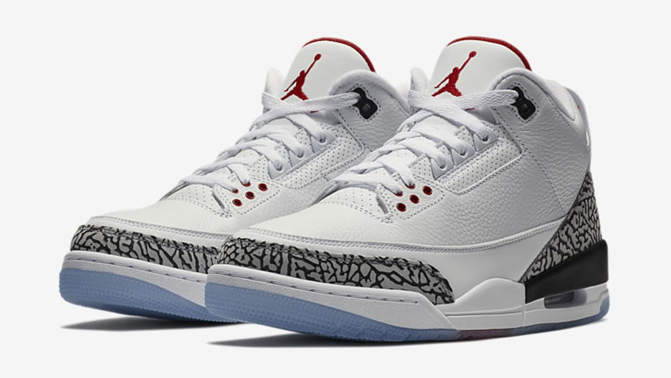 acf1baeaad59ea Air Jordan 3  Free Throw Line  Nike SNKRS Pass Release