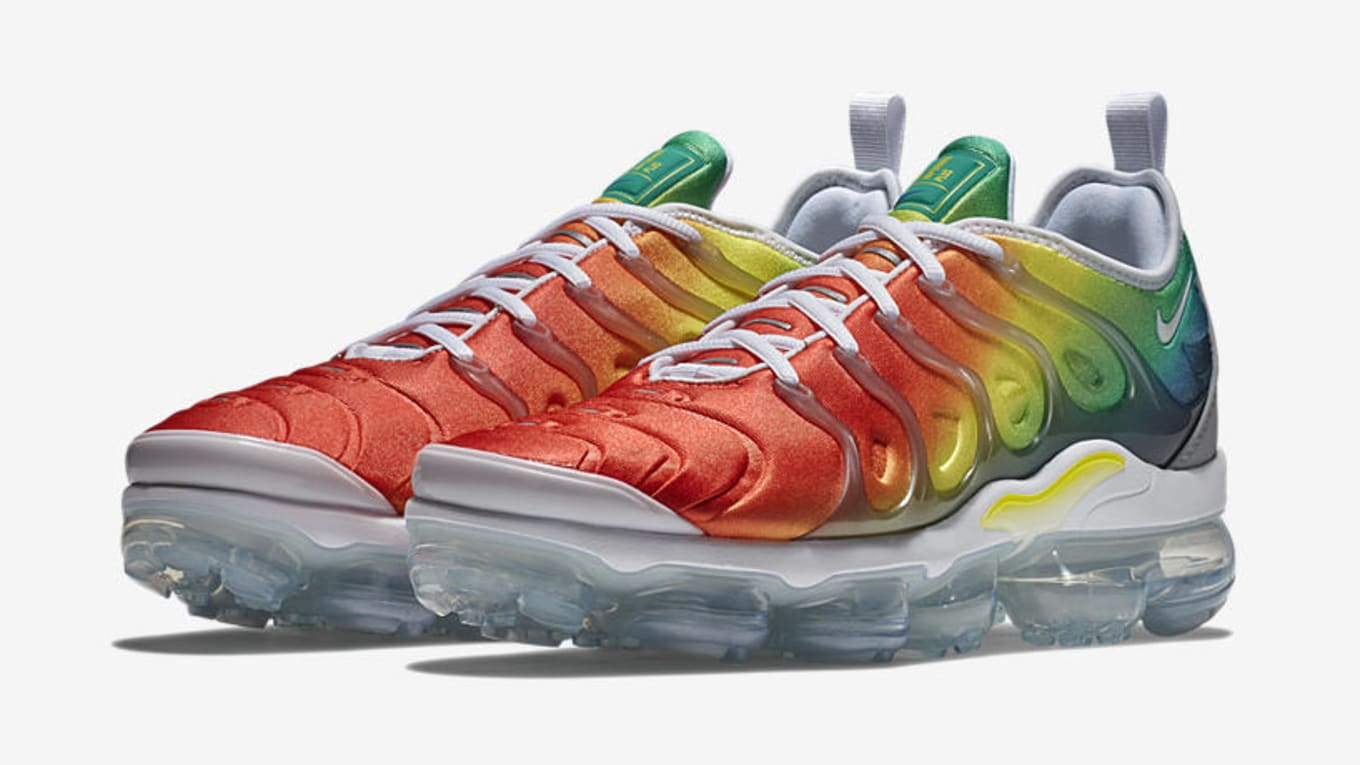 f14d26941522 Image via Nike. Nike s hybrid Air VaporMax Plus silhouette is back next  week in three new colorways—including ...