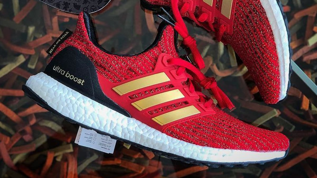 Game Of Thrones X Adidas Ultra Boost Lannister Release
