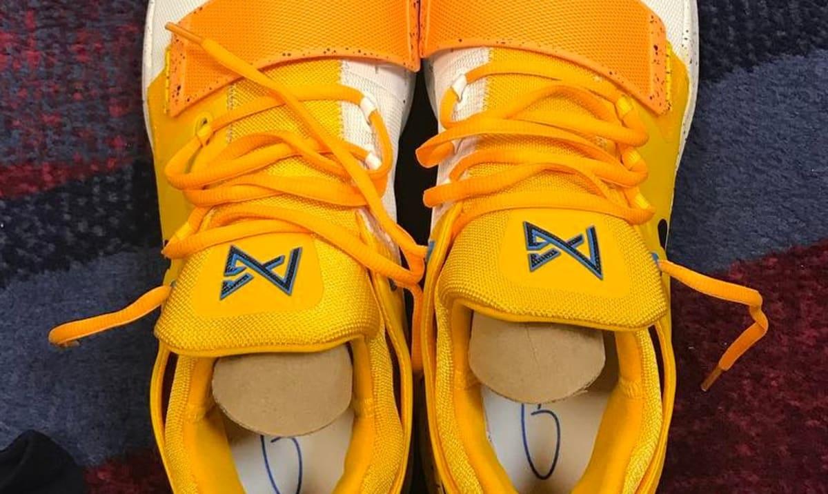 ab1dc3eadda George Hill Nike PG1 Yellow White PE