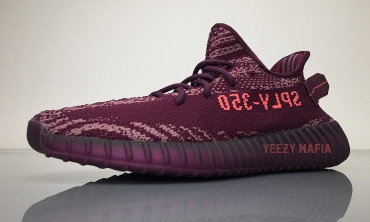 Adidas Yeezy 350 v2 Boost Low SPLY Kanye West Black Copper IN