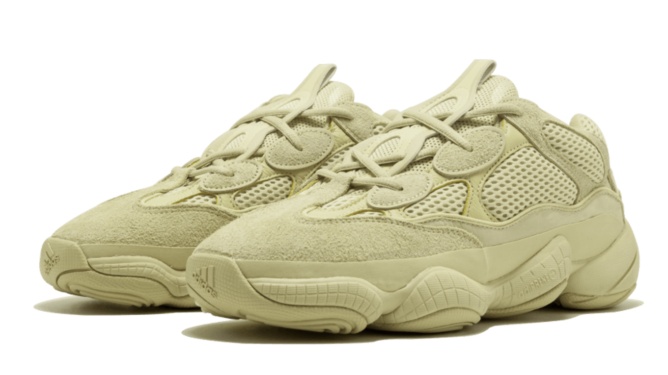 036143070 Adidas Yeezy 500  Super Moon Yellow  Restock