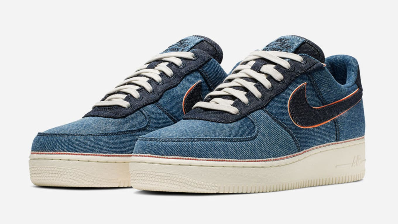 nike air force 1 denim