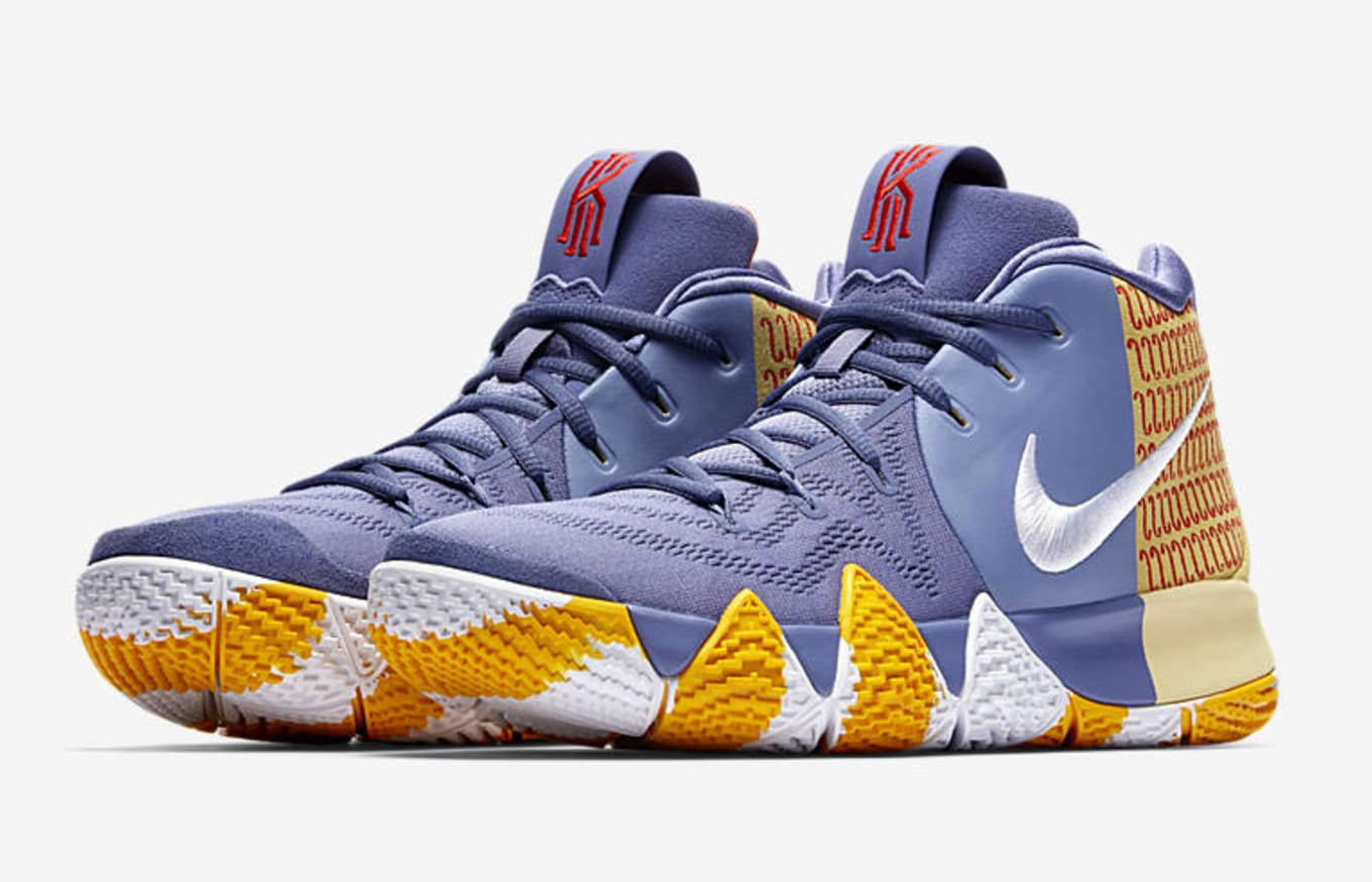 best loved 71d26 7551c Nike Kyrie 4  London PE  AR6189-500 Release Date   Sole Collector