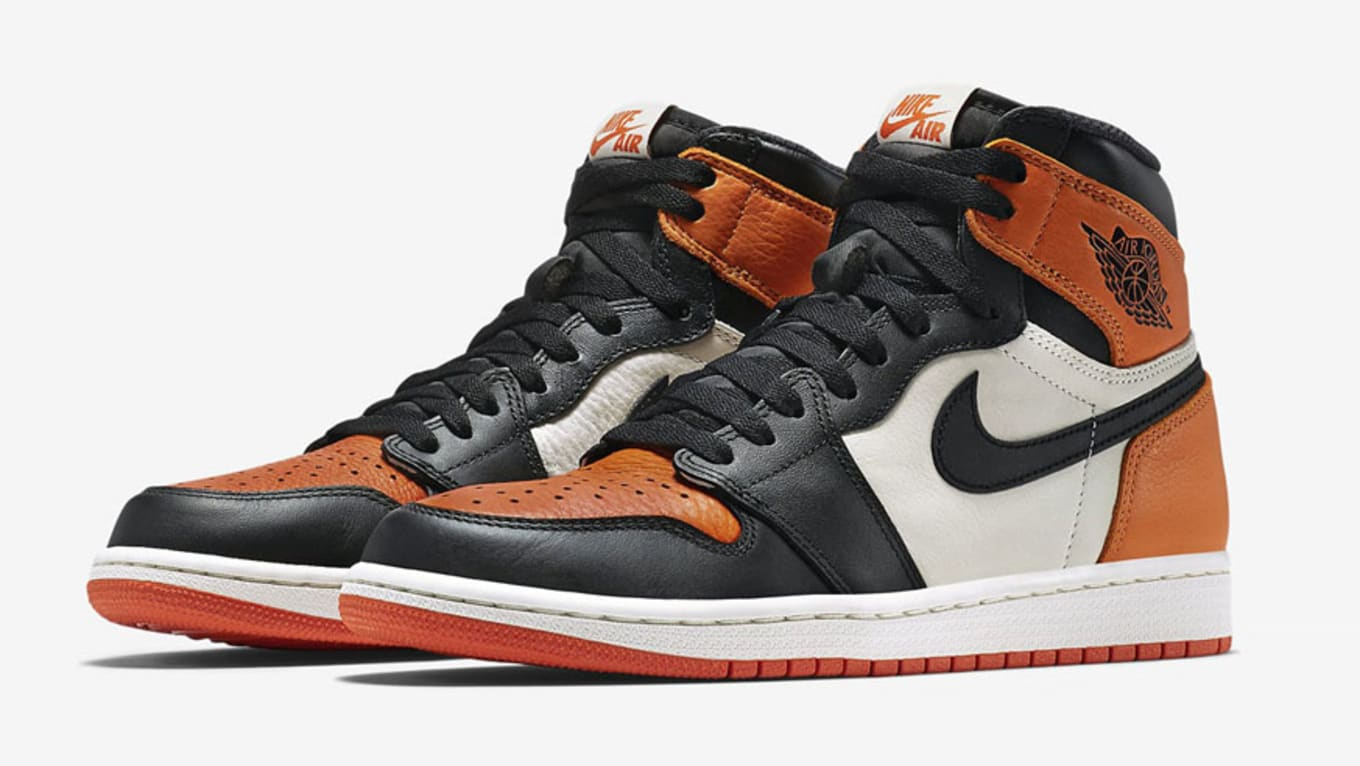9306f8c0061b Air Jordan 1  Shattered Backboard 3.0  Black Pale Vanilla-Starfish ...