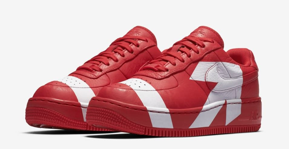 Nike Air Force 1 Upstep WMNS Red/White Release Date | Sole Collector