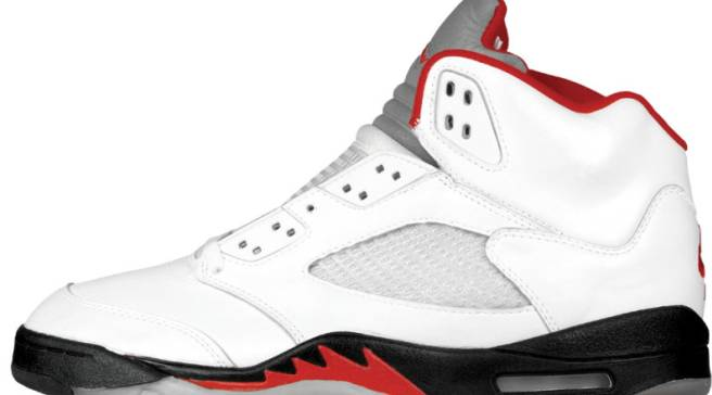 196171b0c5e 'Fire Red' Air Jordan 5s Are Reportedly Returning in 2020
