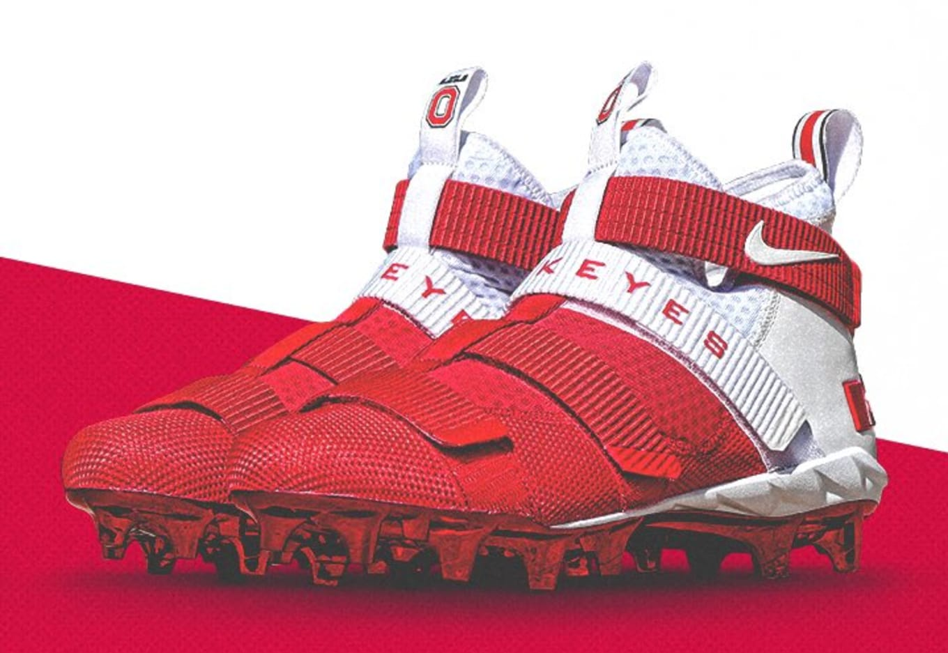 7fc1fae625f ... italy nike zoom lebron soldier 11 xi. images via ohio state football  af6bb 4139b