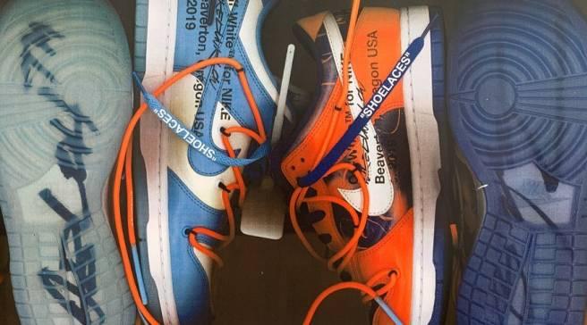 7d221a3c Virgil Abloh Debuts Nike Dunk Collab With Futura at Paris Fashion Week