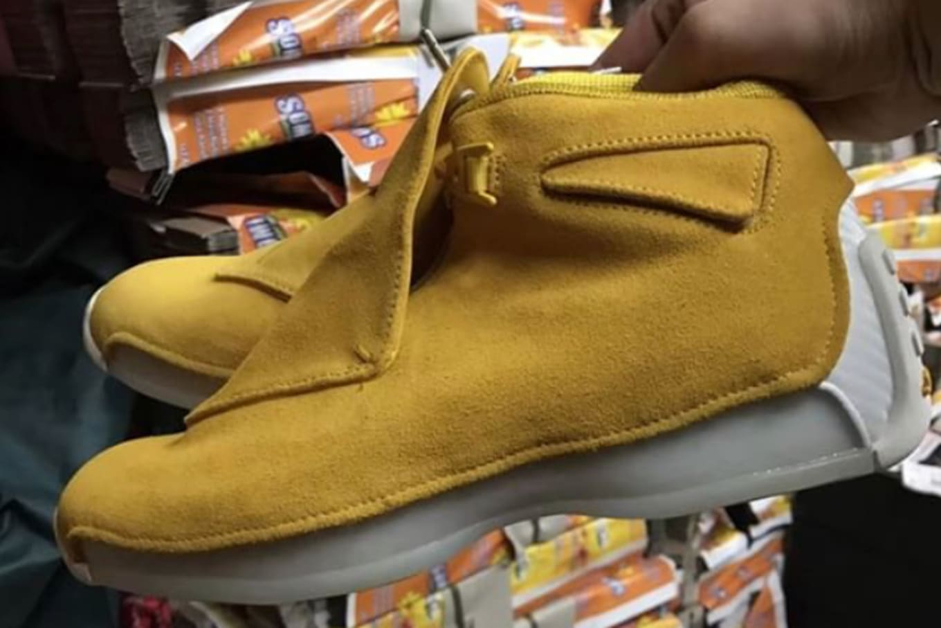 e45046a5c7af6b Buttery Suede on the Air Jordan 18. Another unexpected retro.