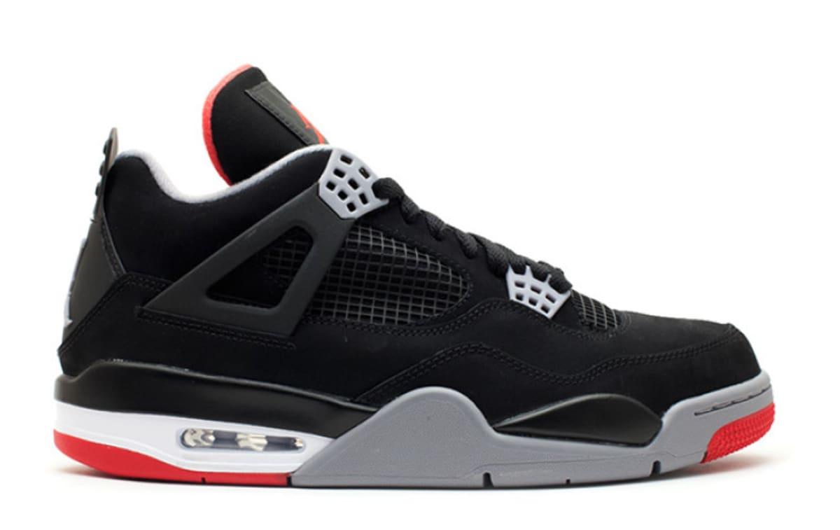 Air Jordan 4 Retro 'Black/Cement Grey/Summit White/Fire