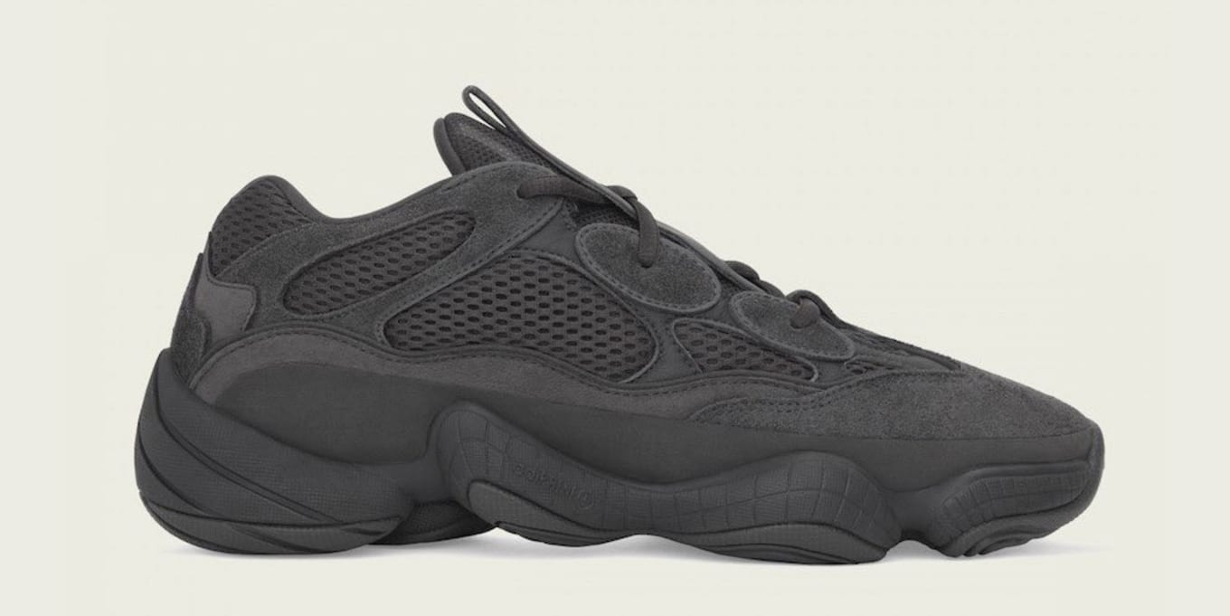 purchase cheap 7ad1f 33bd7 Adidas Yeezy 500 'Utility Black' F36640 Release Date | Sole ...