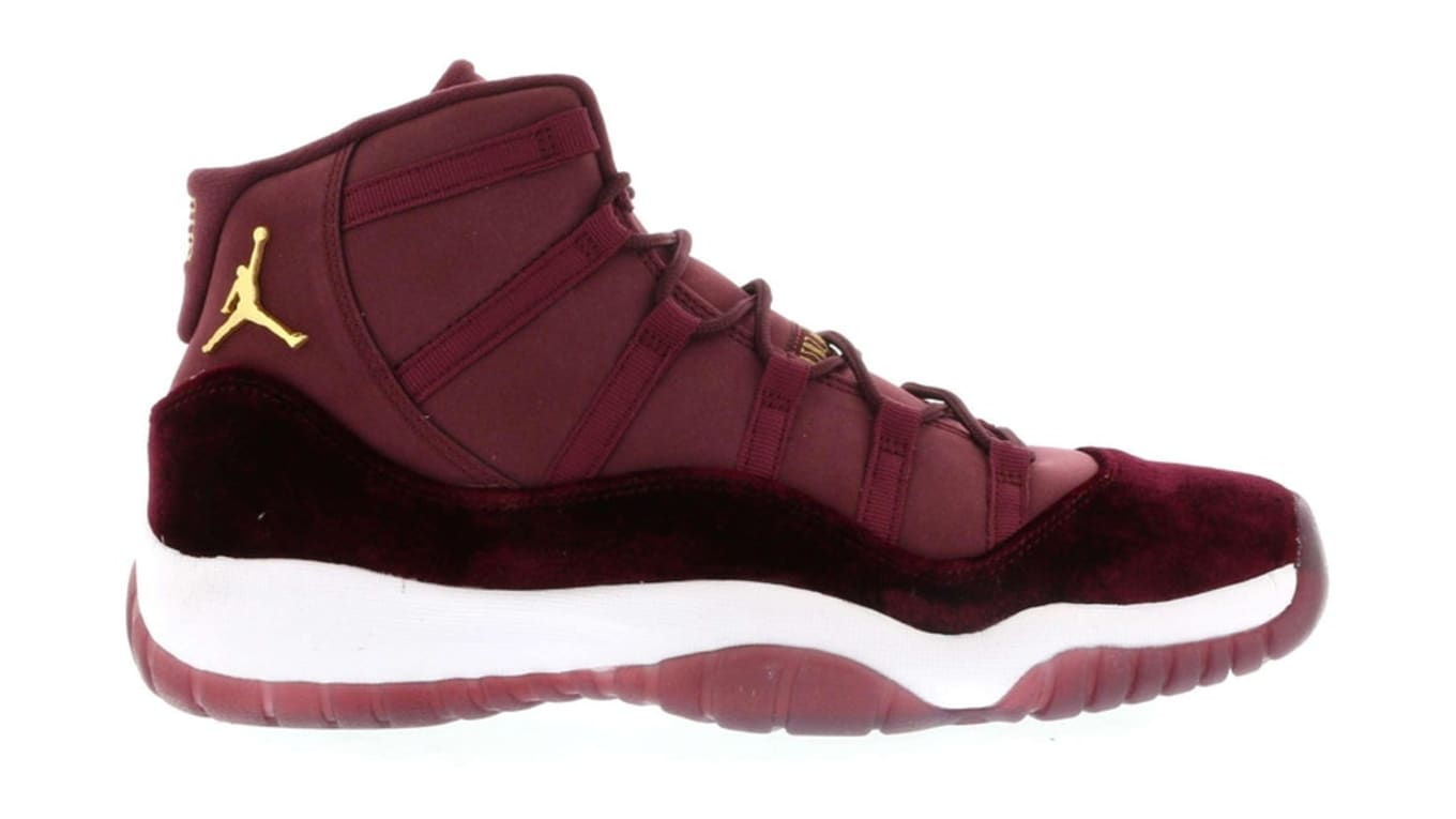 competitive price badc9 a86df Air Jordan 11 Retro Heiress  Night Maroon
