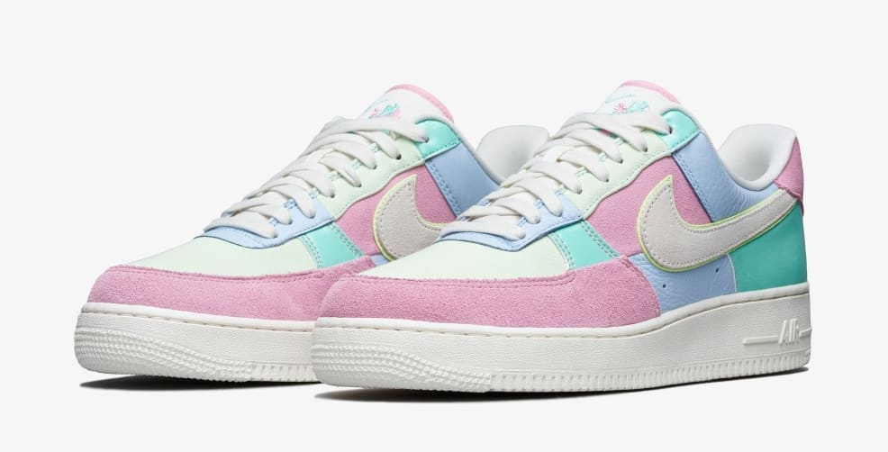 Nike Air Force 1 Low Easter 2018 Release Date AH8462-400 | Sole ...