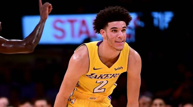028658d206b9  SoleWatch  Lonzo Ball Makes Long-Awaited Debut in Big Baller Brand