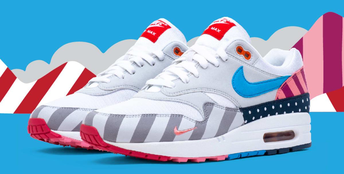 Parra x Nike Air Max 1 'White/Pure Platinum' AT3057-100 Release ...