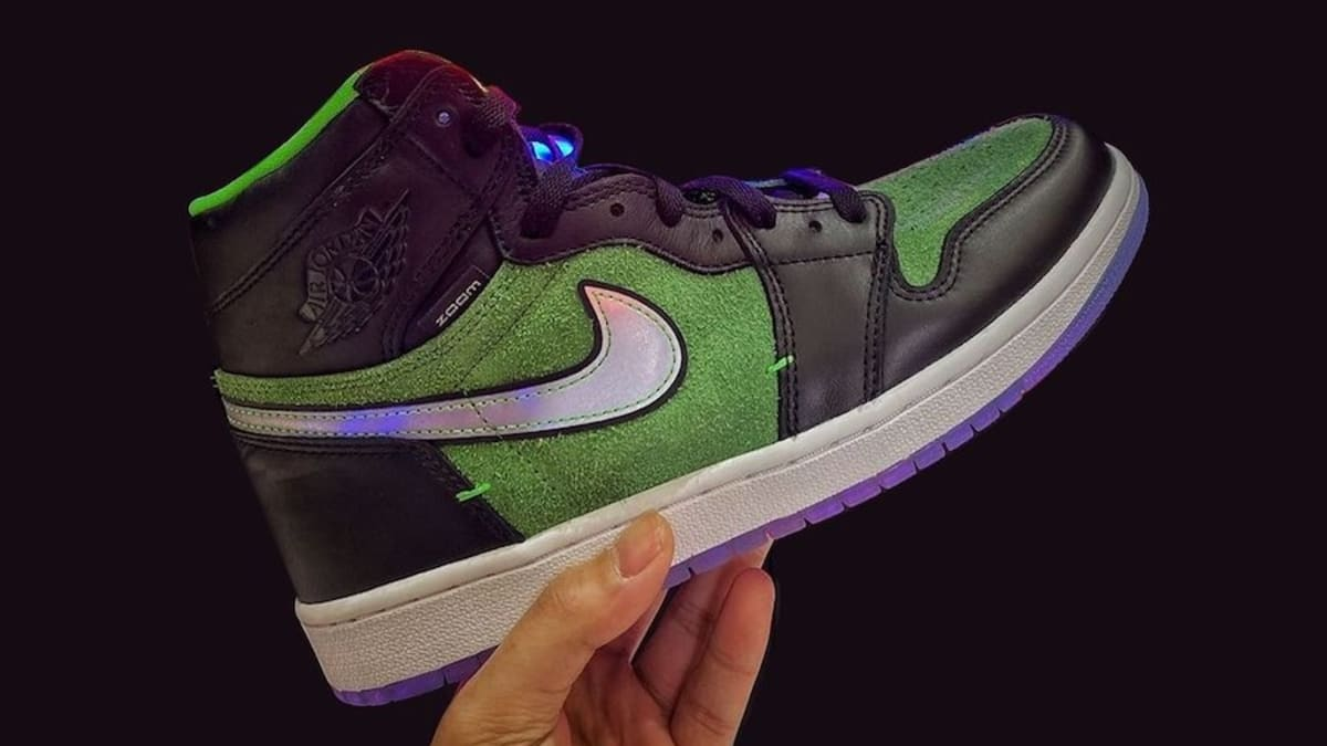 'Rage Green' Air Jordan 1 High Zoom Gets a New Release Date