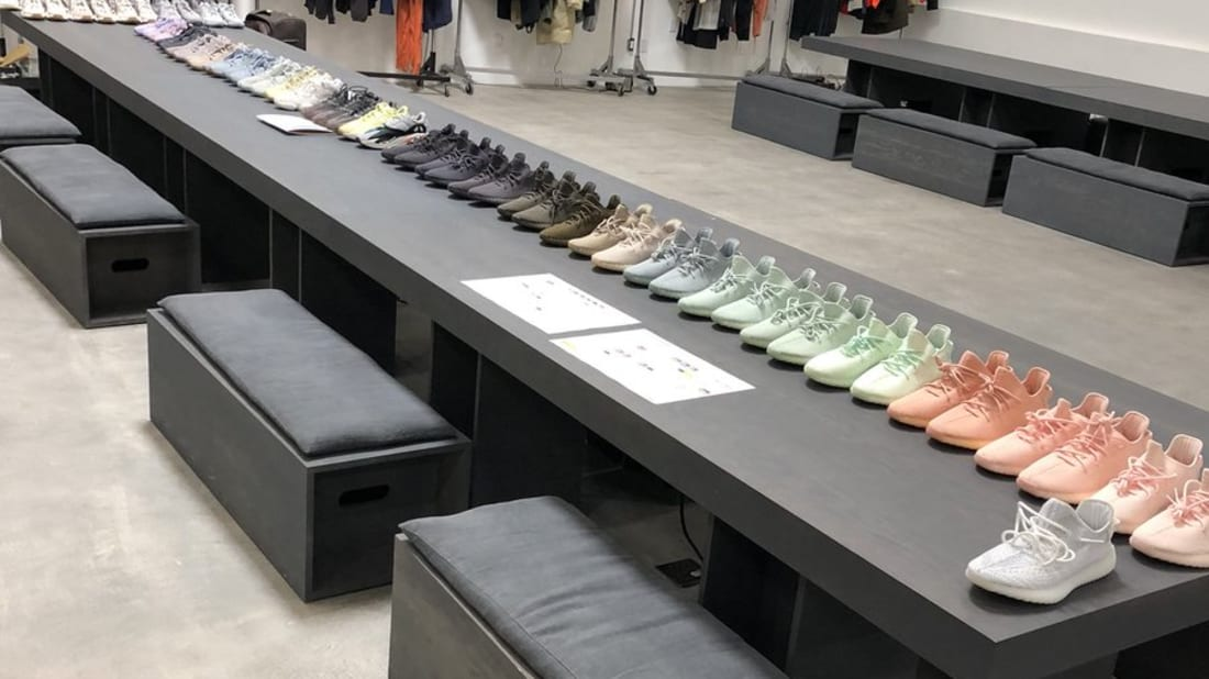 Sole collector sneaker news release dates marketplace kanye west shows off dozens of unreleased yeezys fandeluxe Choice Image