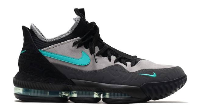 a519bedd0e0 A Better Look at the Atmos x Nike LeBron 16 Low  Clear Jade