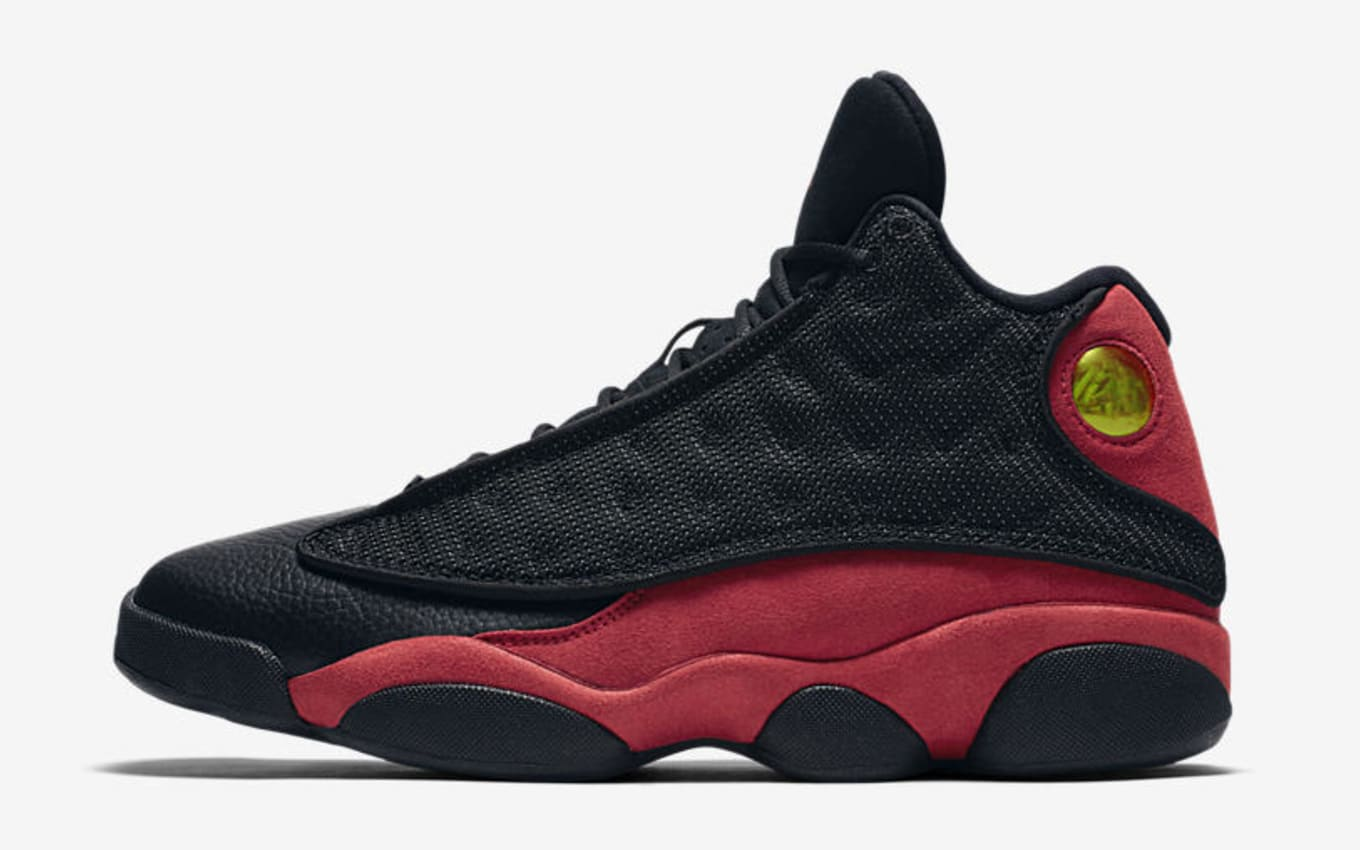 new product 5cdb9 480cf Air Jordan 13  Black Red