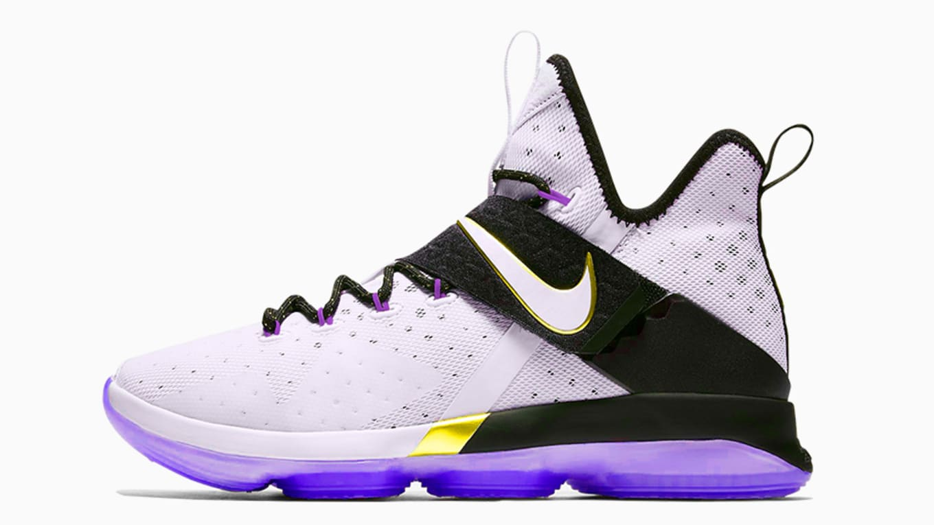 best sneakers 68291 a6831 Nike LeBron Lakers Colorways   Sole Collector