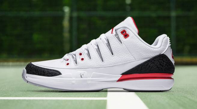 91a0435314e5b  Fire Red  Roger Federer x Jordan Sneakers Releasing This Week