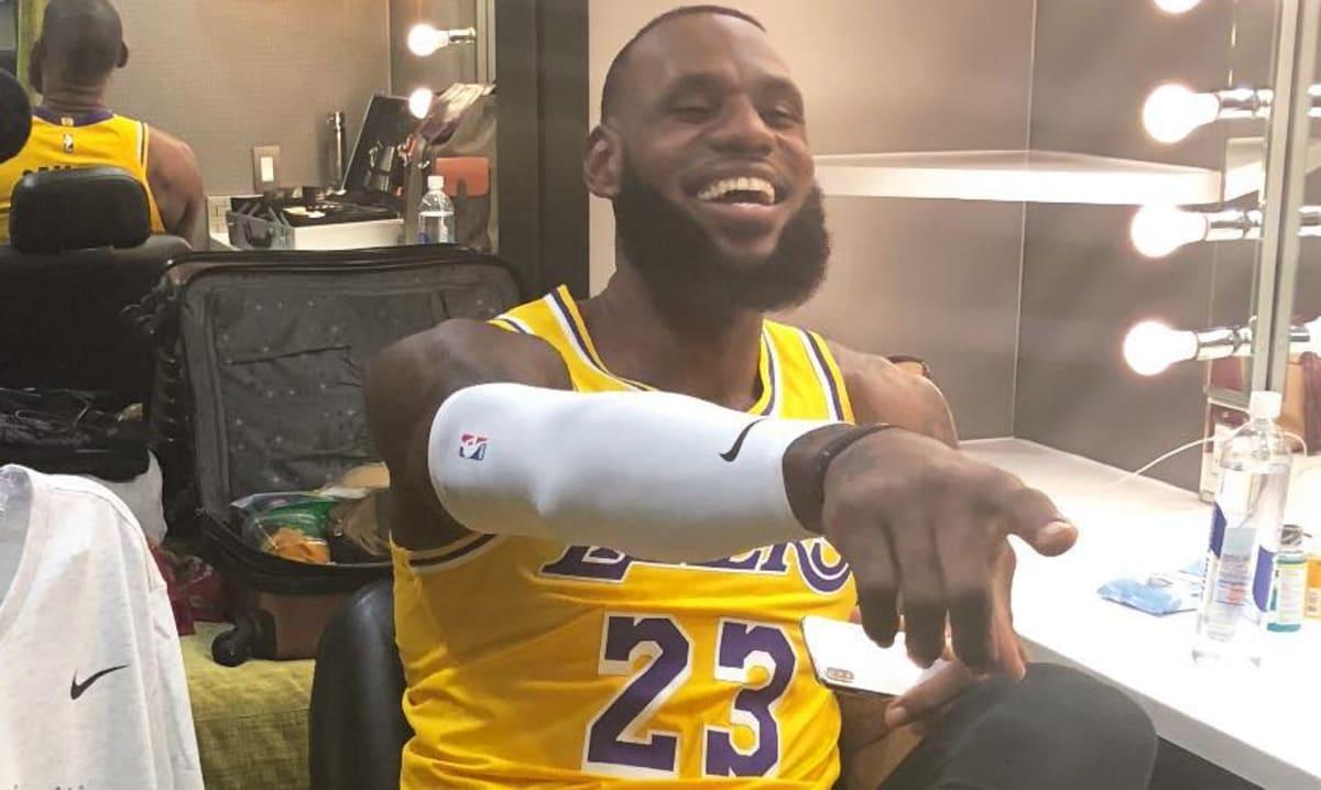 e0c478a5ebd7a LeBron James UNDFTD x Nike Zoom Kobe 1 Protro Lakers PE | Sole Collector