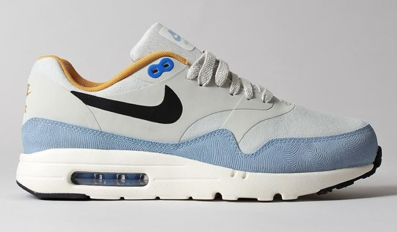 Nike Air Max 1 Ultra Essential Light Bone Bluecap 819476 009