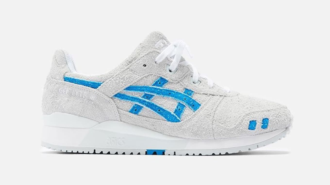 """Ronnie Fieg's ASICS GEL Lyte III """"Super Blue"""" To Release On"""