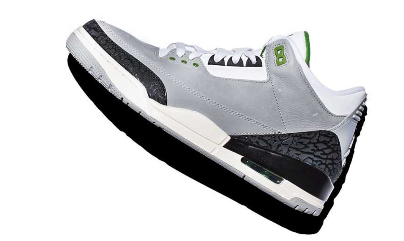 low priced f80f7 1cdc7 Air Jordan 3 Retro  Chlorophyll