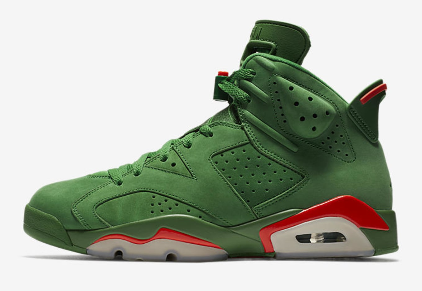 95ee086b624 Where to Buy Air Jordan 6 Gatorade Green | Sole Collector