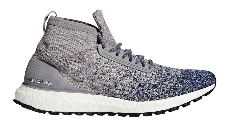 Adidas Ultra Boost All Terrain Glitch Heather Grey Heather