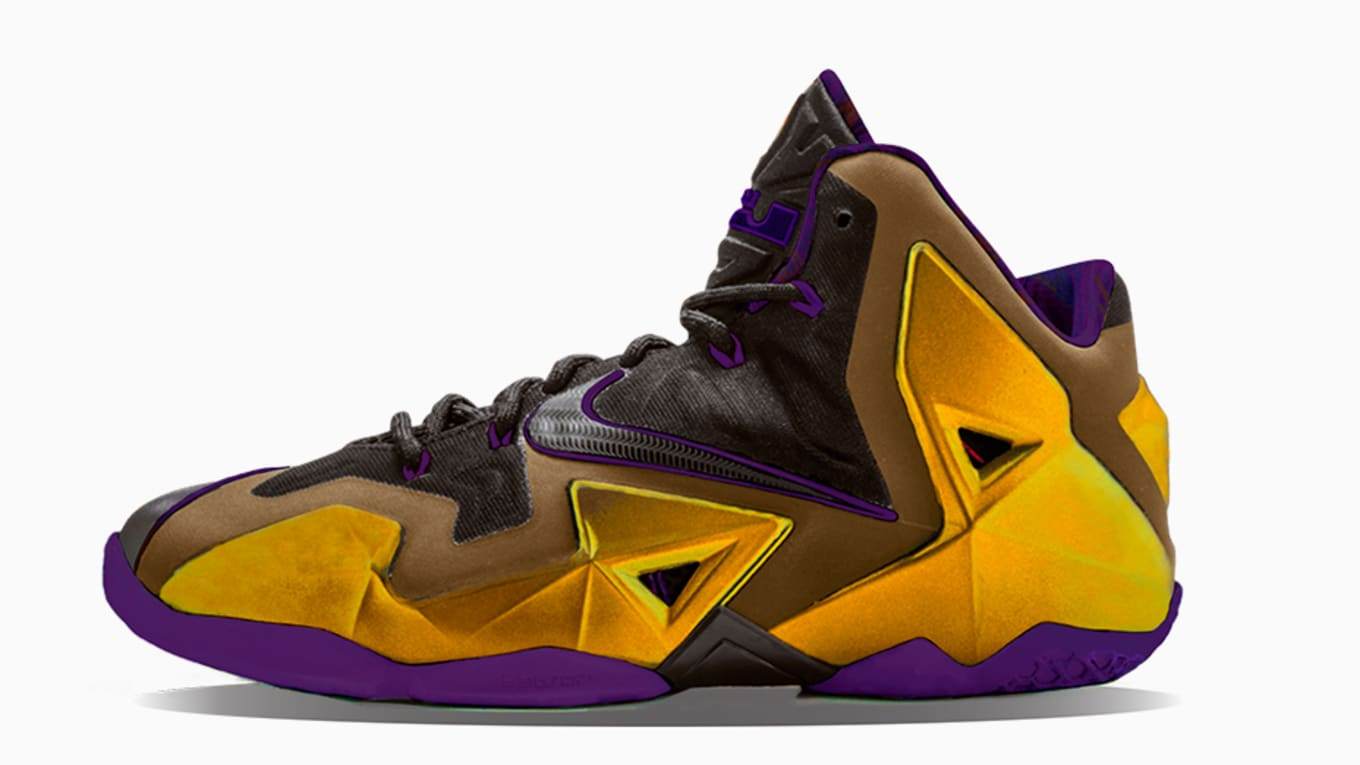ec75ee9f3 Nike LeBron Lakers Colorways