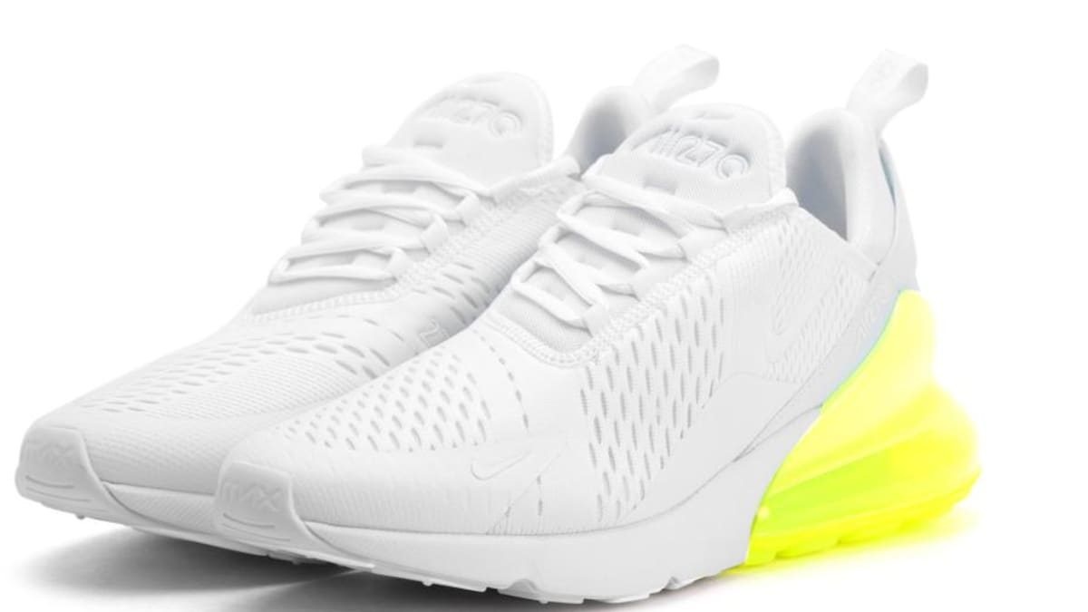 Nike Air Max 270 New Colorway WhiteVolt   Sole Collector