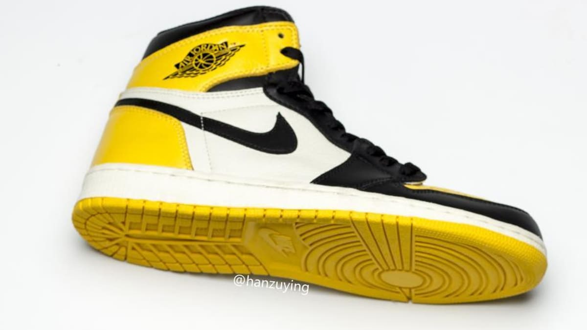 the latest 164f5 3f9fb Air Jordan 1 Retro High OG  Yellow Toe  Release Date AR1020-700   Sole  Collector