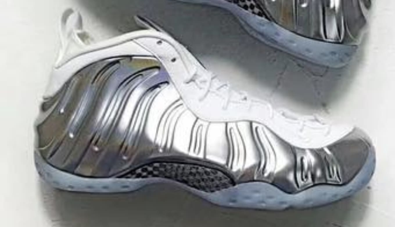 e8dd79139c294 Nike Air Foamposite One WMNS  Chrome  Release Date