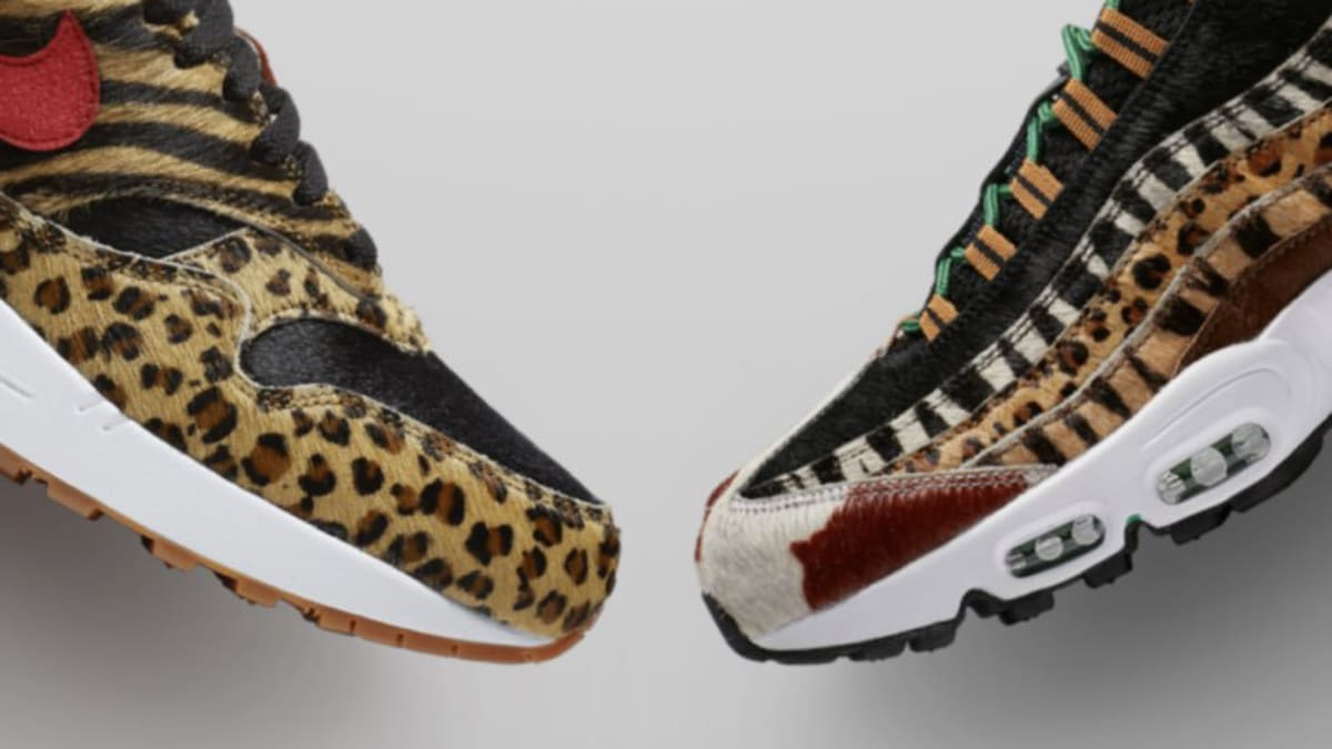 45fda8ca10 Atmos x Nike Air Max 'Animal Pack' SNKRS The Choice Release | Sole Collector